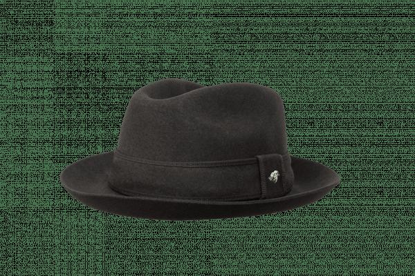 Sombrero banquera 20estrellas café