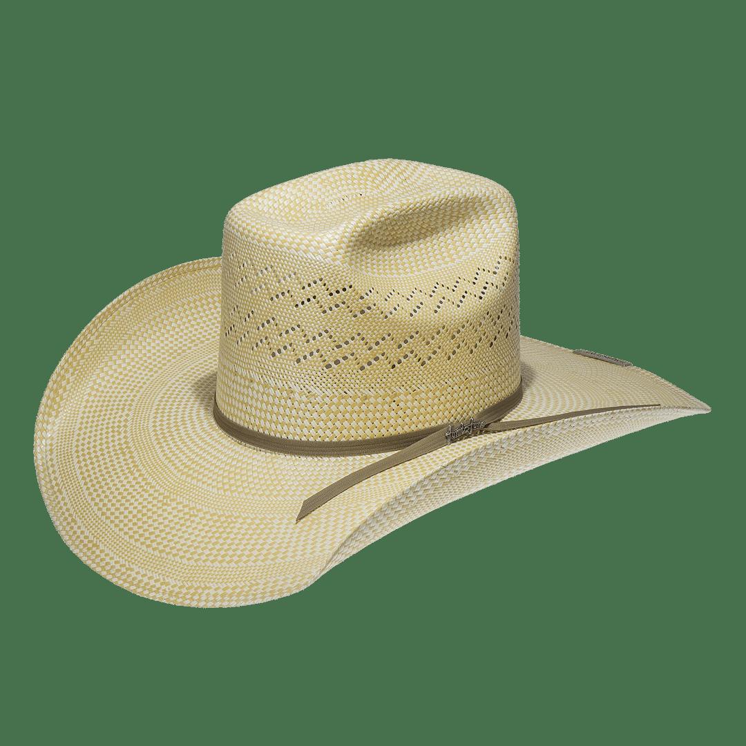 dd6a98fa65 Hombre. Sombrero Artesanal 30x Texas Bicolor Natural-Amarillo · Tombstone